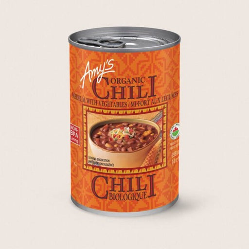 Amy's Organic Medium Chili with Vegetables 398ml