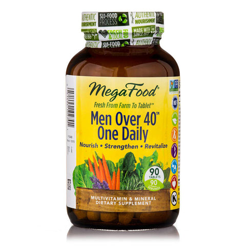 Megafood Men Over 40 One Daily 90 Tabs