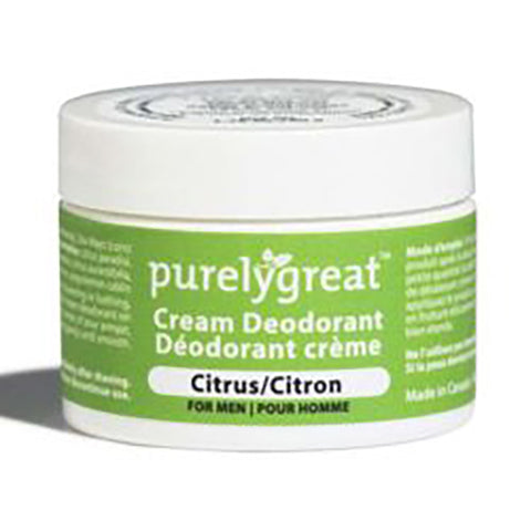 PurelyGreat Deodorant For Men Citrus