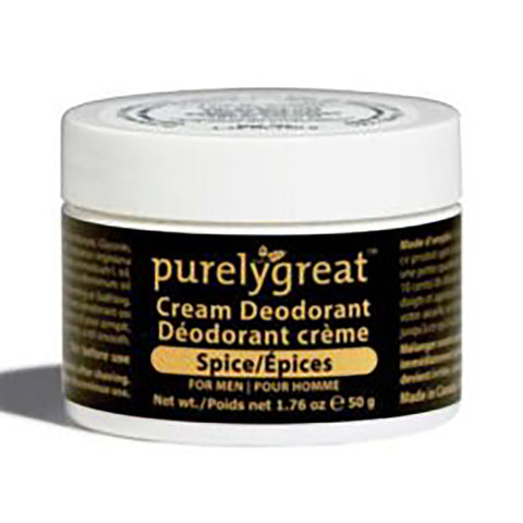 PurelyGreat Deodorant For Men Spice