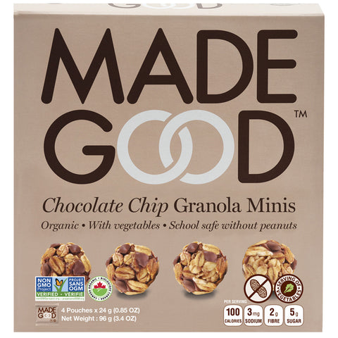 Madegood Chocolate Chip Granola Minis