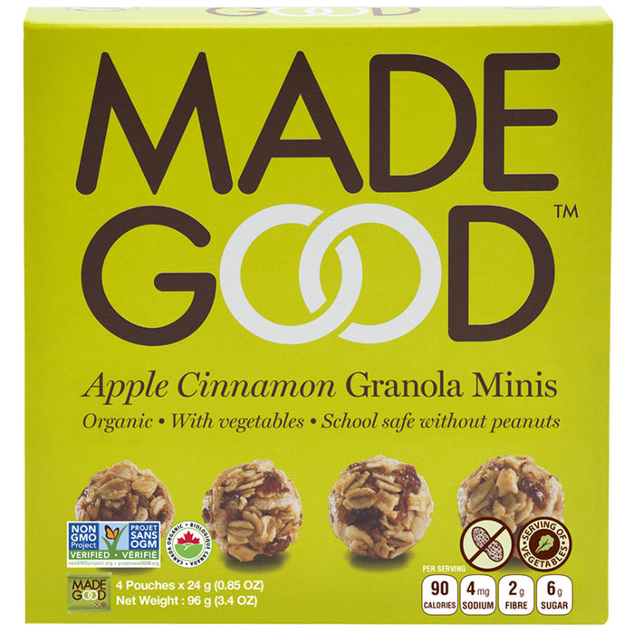 Madegood Apple Cinnamon Minis