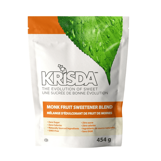 Krisda Monk Fruit Sweetener Spoonable 454g