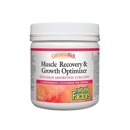 Natural Factors Muscle Recovery and Growth Optimizer 156g