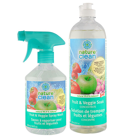 Nature Clean Veggie Wash Spray Wash