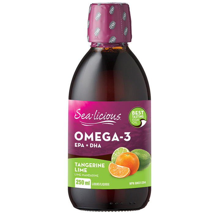 Sea-Licious Omega-3 Nutrition Tangerine Lime 250 ml