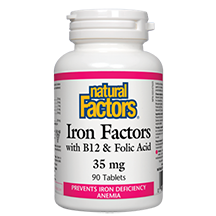Natural Factors Iron Factors