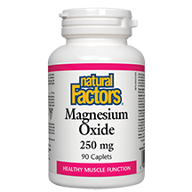 Natural Factors Magnesium Oxide