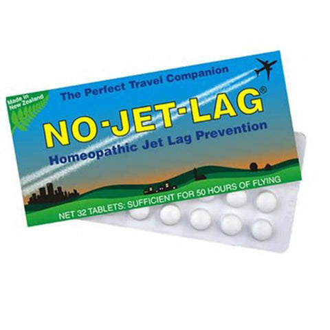 No Jet Lag. Homeopathic prevention at the Natural Food Pantry