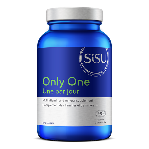 Sisu Only One Multivitamin with Iron 90 tabs