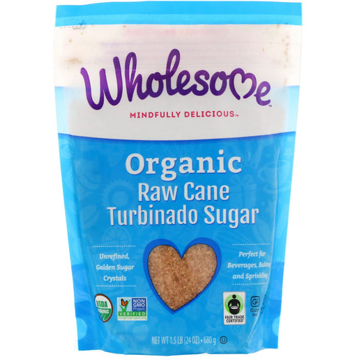 Wholesome Sweeteners Organic Turbinado Sugar 680g
