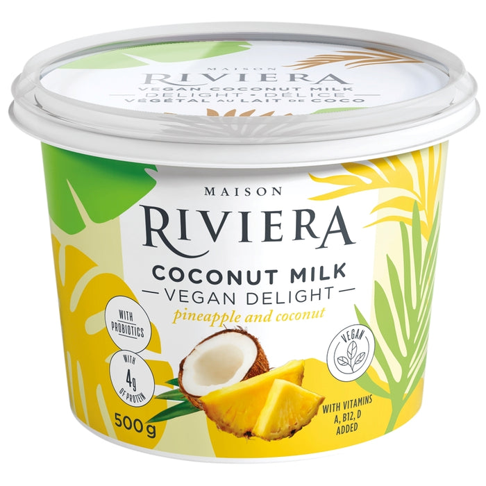 Riviera Vegan Coconut Milk Pineapple Coconut 500g