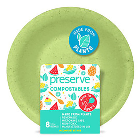 Preserve Compostable Bowls 8 pack