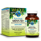 Natural Factors Whole Earth and Sea multi vitamin 50+ 60 tab