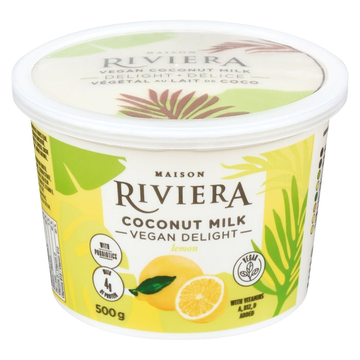 Riviera Vegan Coconut Milk Delight Lemon