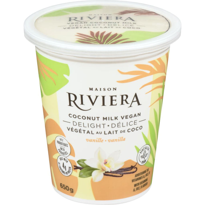 Riviera Vegan Coconut Milk Delight Vanilla 650g