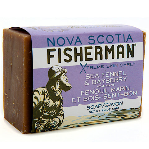 Nova Scotia Fisherman Seafennel & Bayberry bar soap 136 g