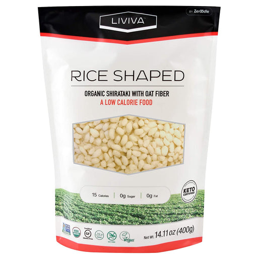 Liviva Shirataki Rice with Oat Fiber 400g