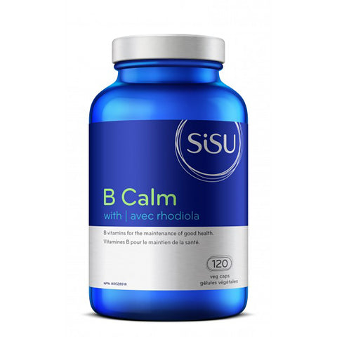 Sisu B Calm with Rhodiola 120 caps