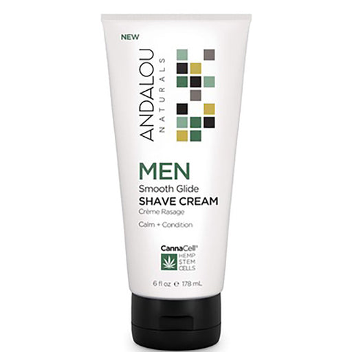 Andalou Naturals Men's Smooth Glide Shave Cream