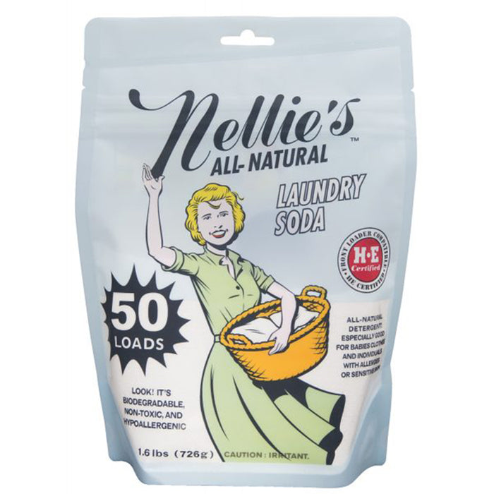 Nellie's All Natural Laundry Soda 50 loadsl at Natural Food Pantry