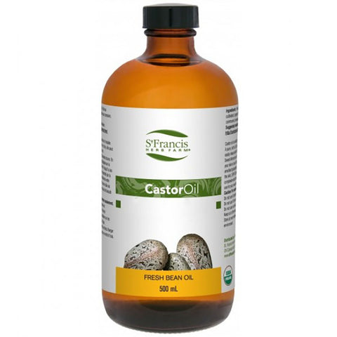 St Francis Herbs Castor Oil 500ml