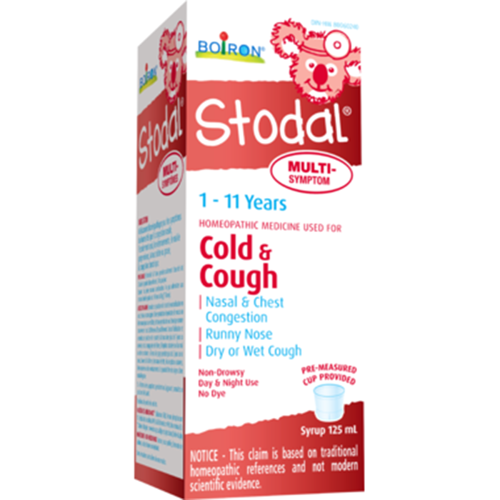 Boiron Stodal Cold + Cough 1-11yrs