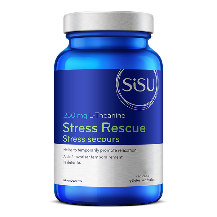 Sisu Stress Rescue L-Theanine 60 cap