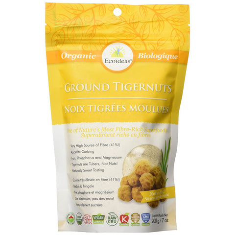 Ecoideas Tigernuts Stone Ground 200g
