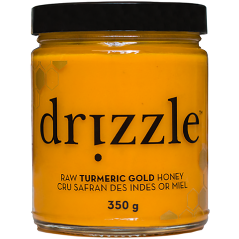 Drizzle Turmeric Gold Raw Honey 350g