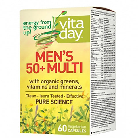VitaDay Men's Mutlivitamin 50+ 60 caps
