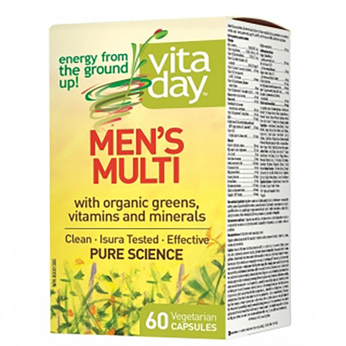 VitaDay Men's Mutlivitamin  60 caps