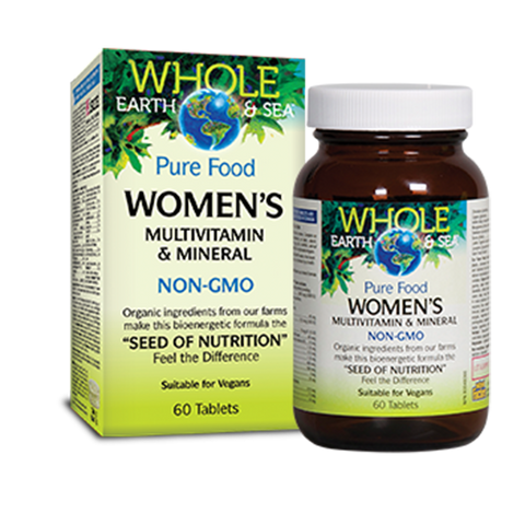 Whole Earth and Sea Women's Multivitamin and Minerals