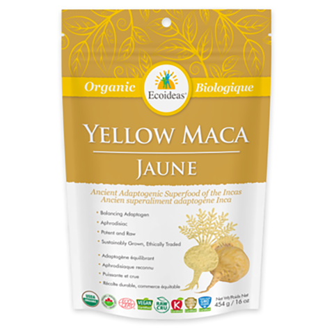 Ecoideas Yellow Maca 227g