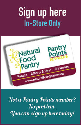 Natural Food Pantry Points