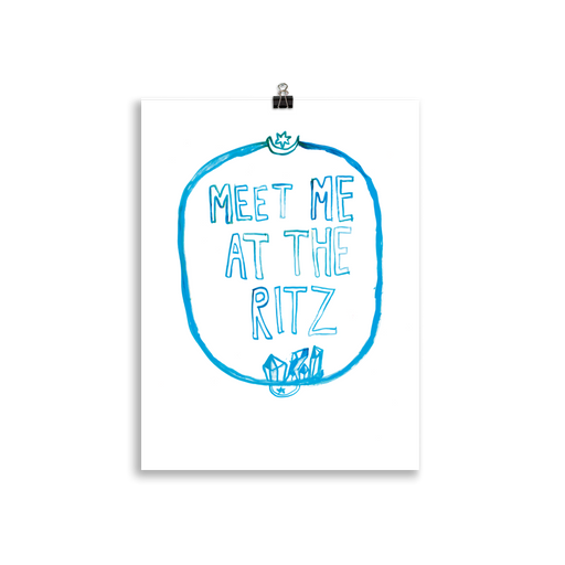 Meet Me At The Ritz poster - Family Affairs