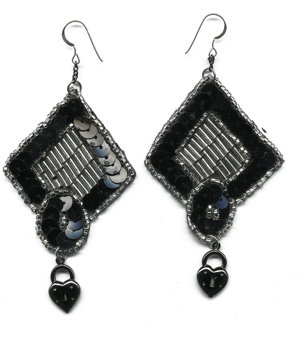 Heart Of Chambers Earrings - Family Affairs