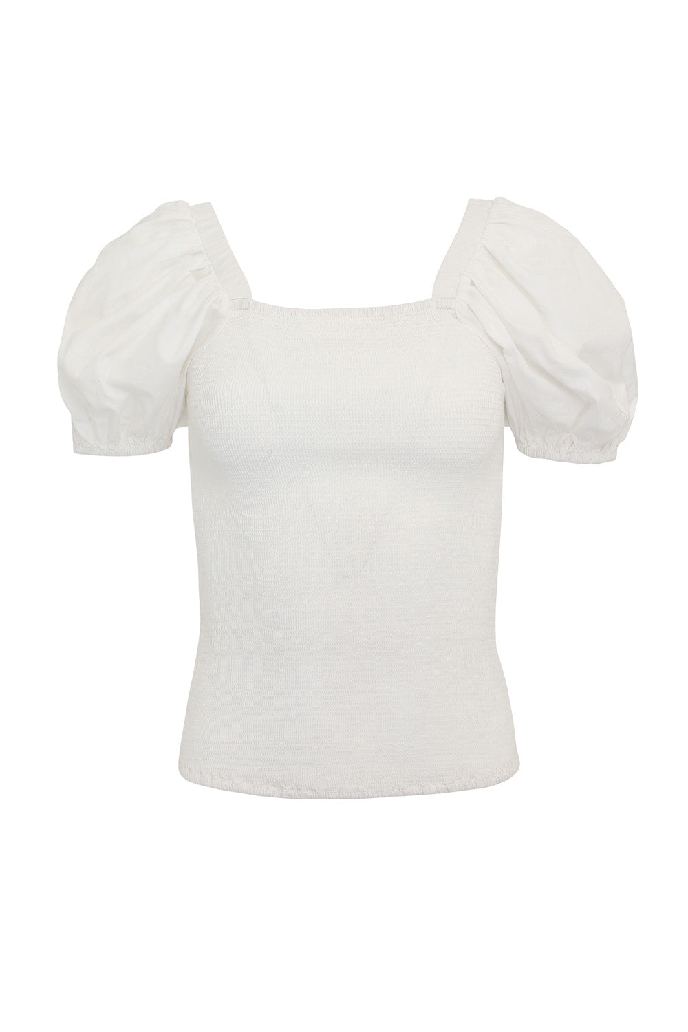 Bright Heart white top - Family Affairs