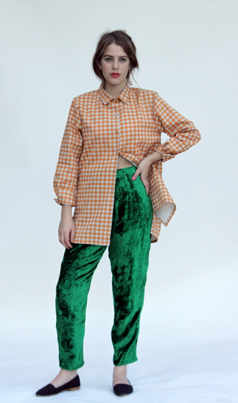 Beauvoir velvet pants - Family Affairs