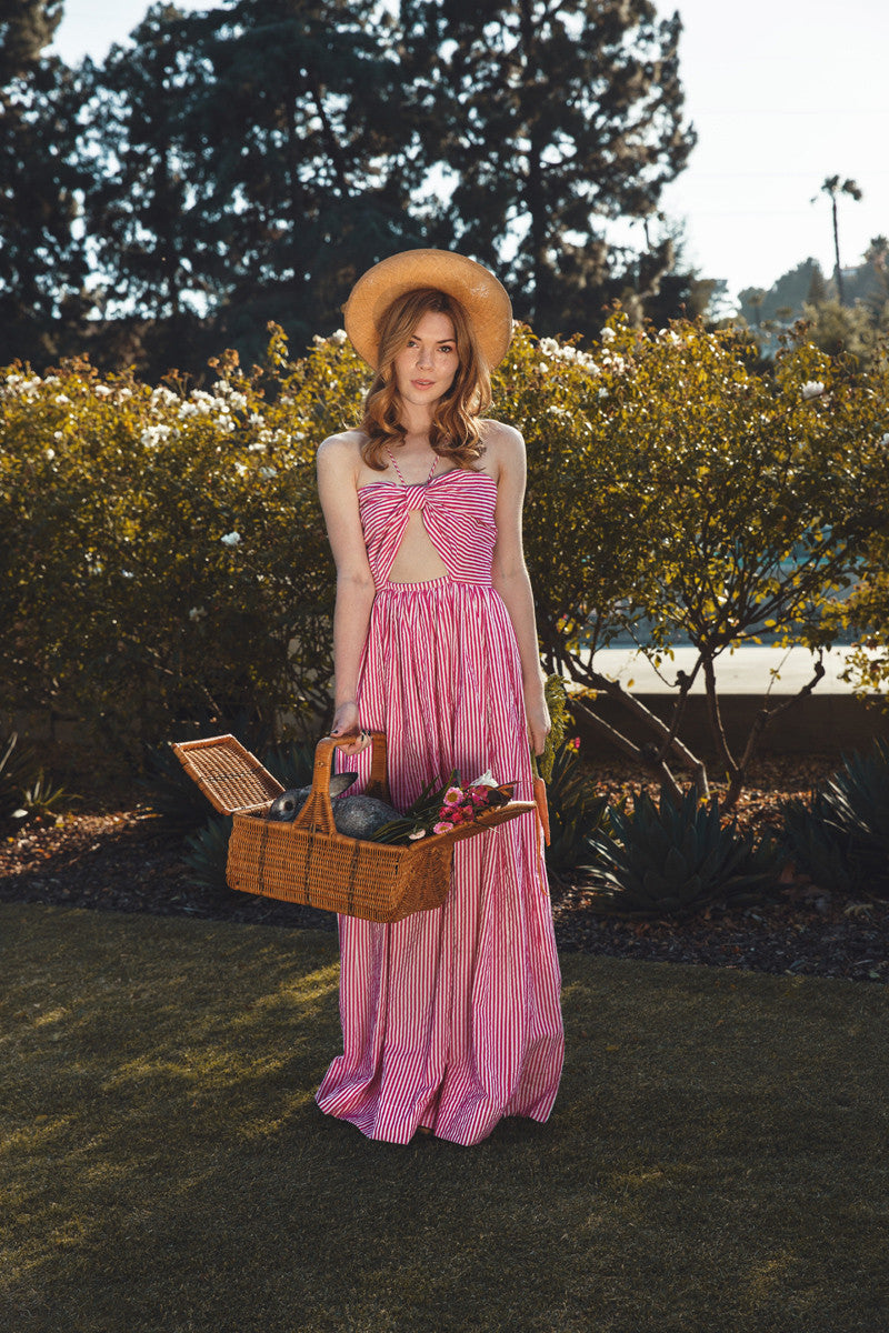 Cosmic Fruit dress- pink - Family Affairs