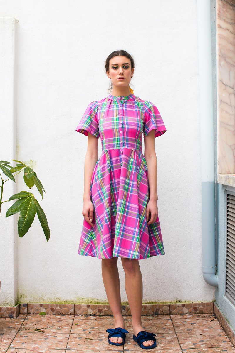 Paris Madras dress - Family Affairs