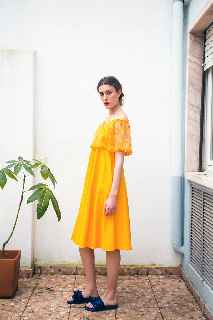 Lisbon Marigold dress - Family Affairs