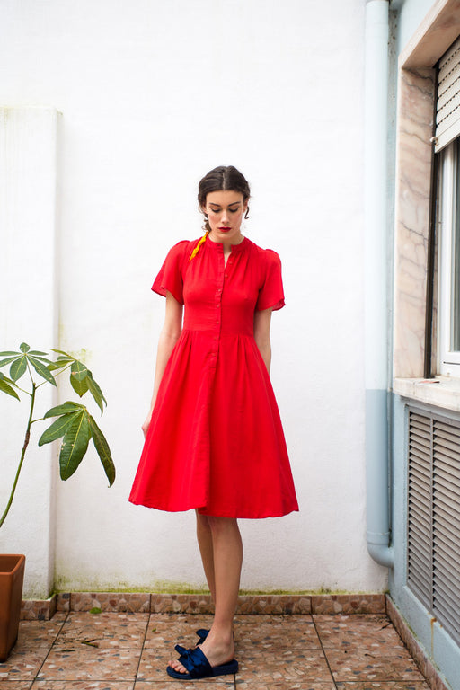 Paris Red dress - Family Affairs