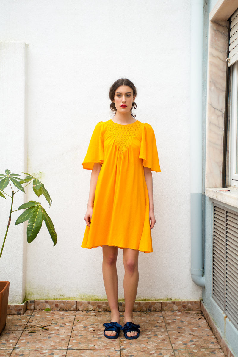 Venus Marigold dress - Family Affairs