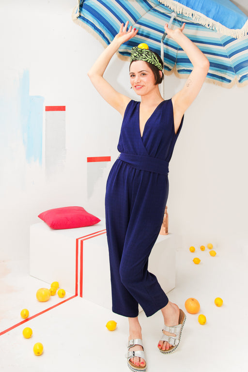 Just Like Heaven Navy jumpsuit - Family Affairs