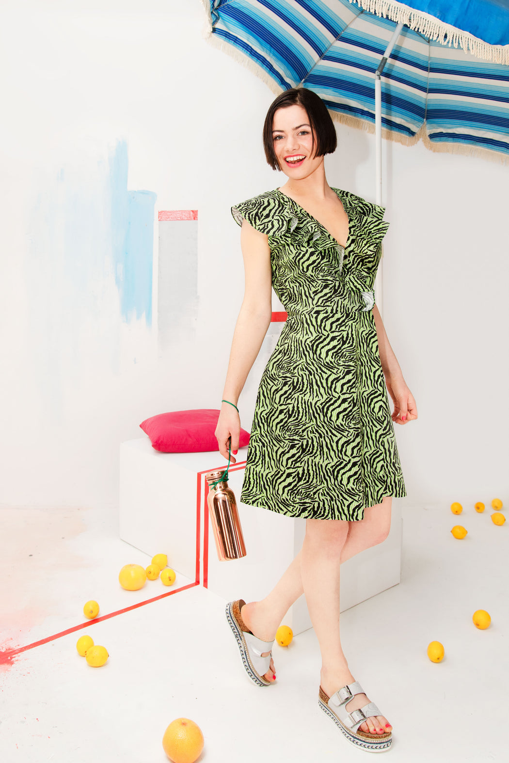 Agave Green dress - Family Affairs