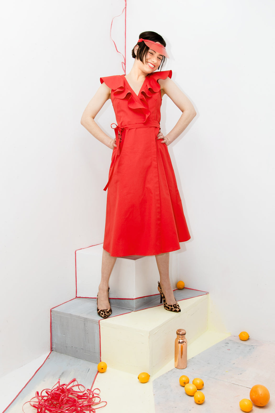 Agave Red dress - Family Affairs