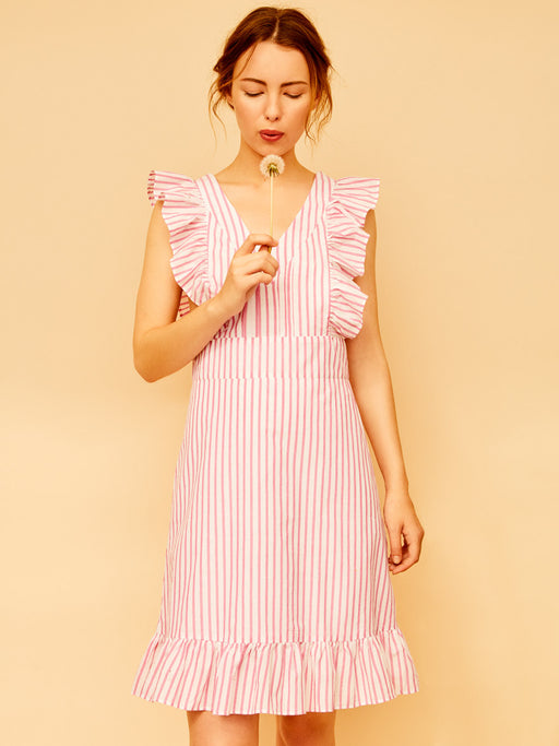 Tea For Tillerman pink dress - Family Affairs