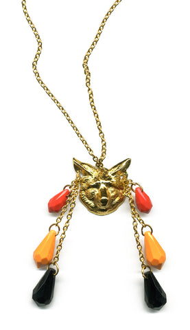 Call Of The Wild fox necklace - Family Affairs