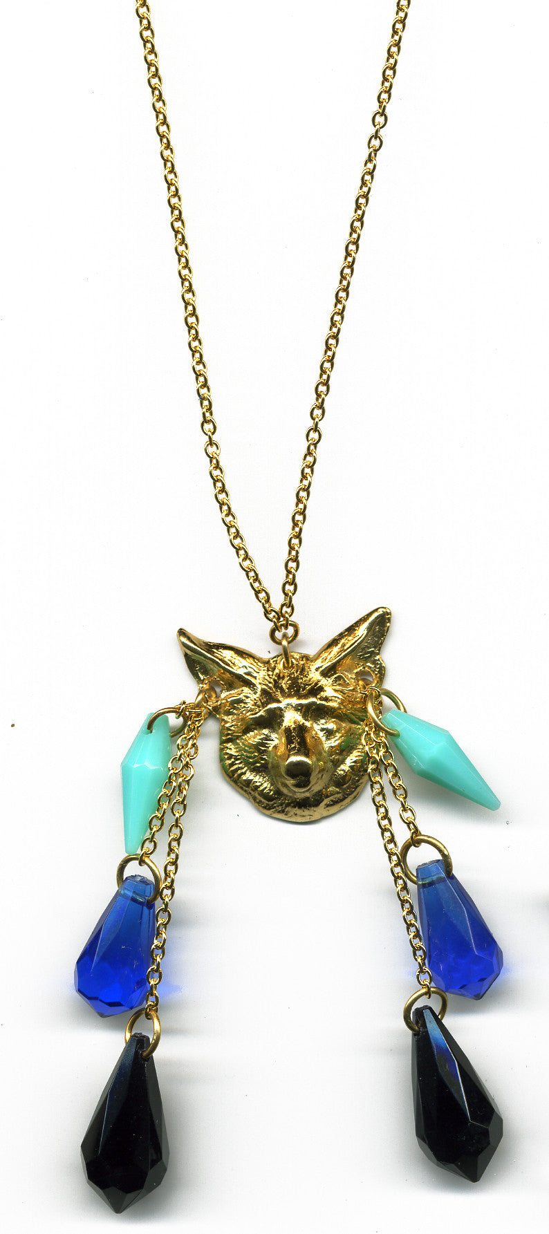 Cerillos fox necklace - Family Affairs